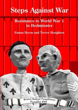 Steps Against War front cover